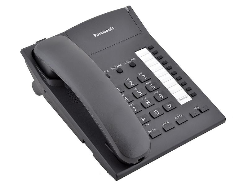 Телефон Panasonic KX-TS2382RU-B