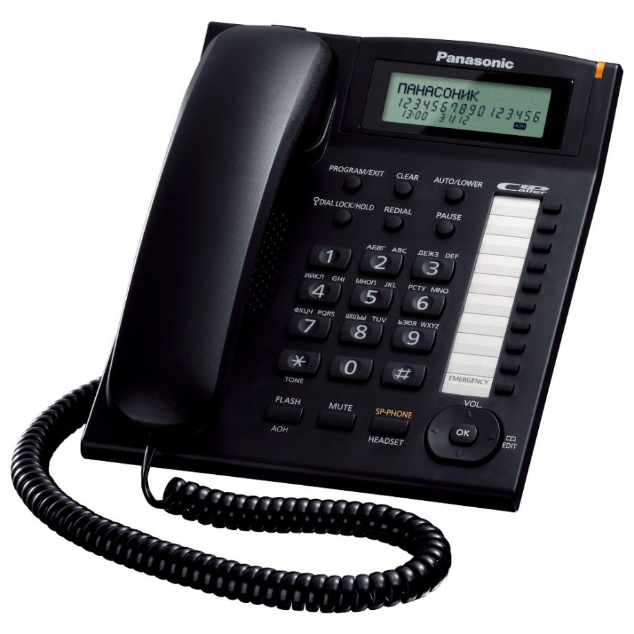 телефон Panasonic KX-TS2388RU-B